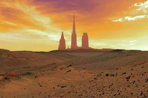 cathé silouhette ciel only Mars