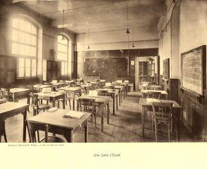 une salle d'étudepf